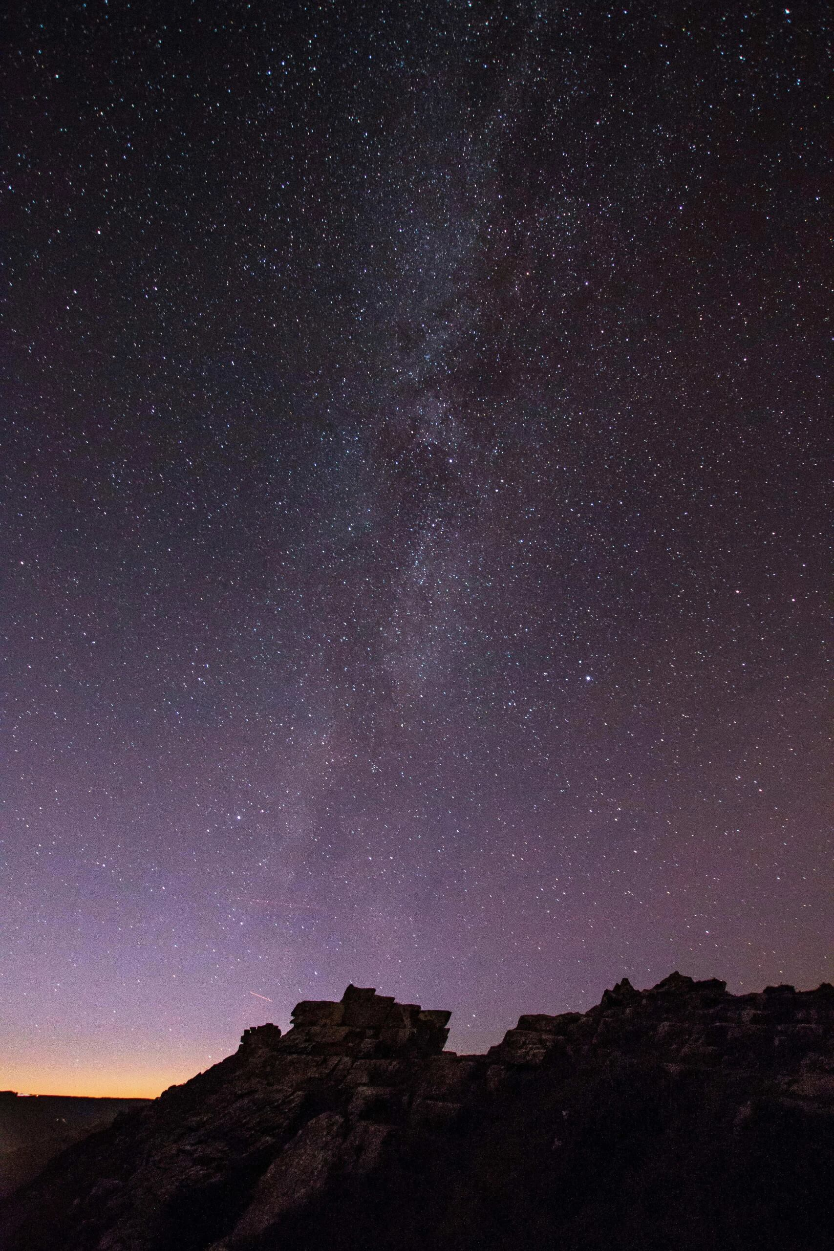 The Milky Way At The Valley of Rocks