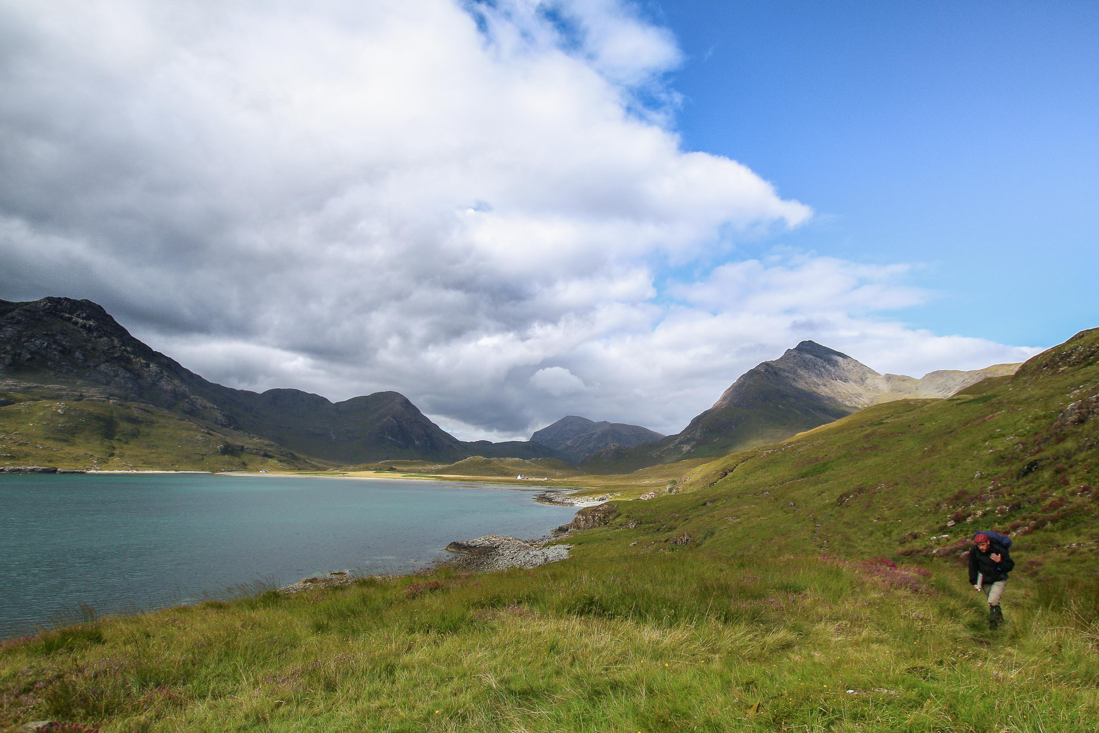 View Towards Bla Beinn & The Cuillins