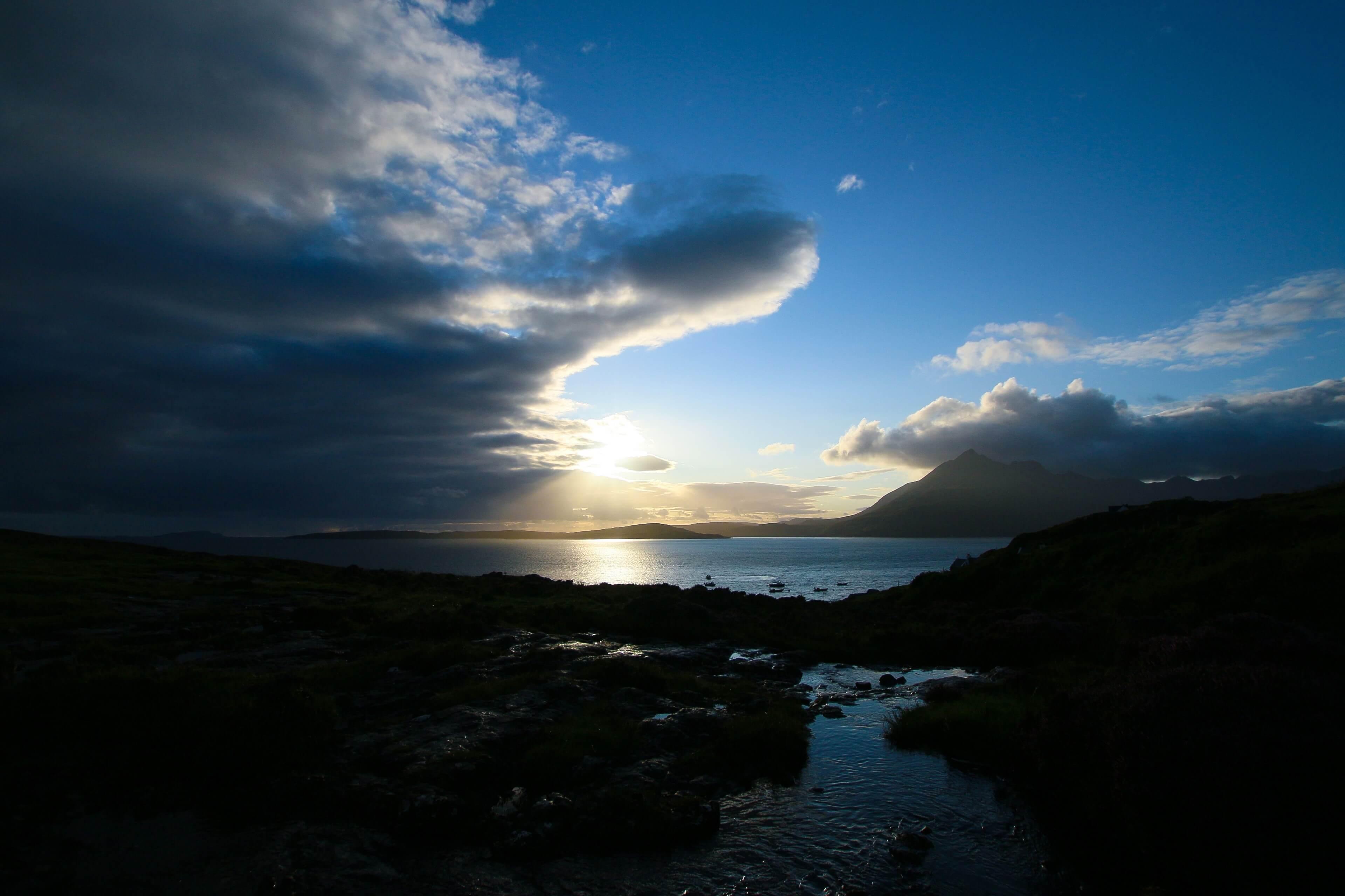 Sunset at Elgol