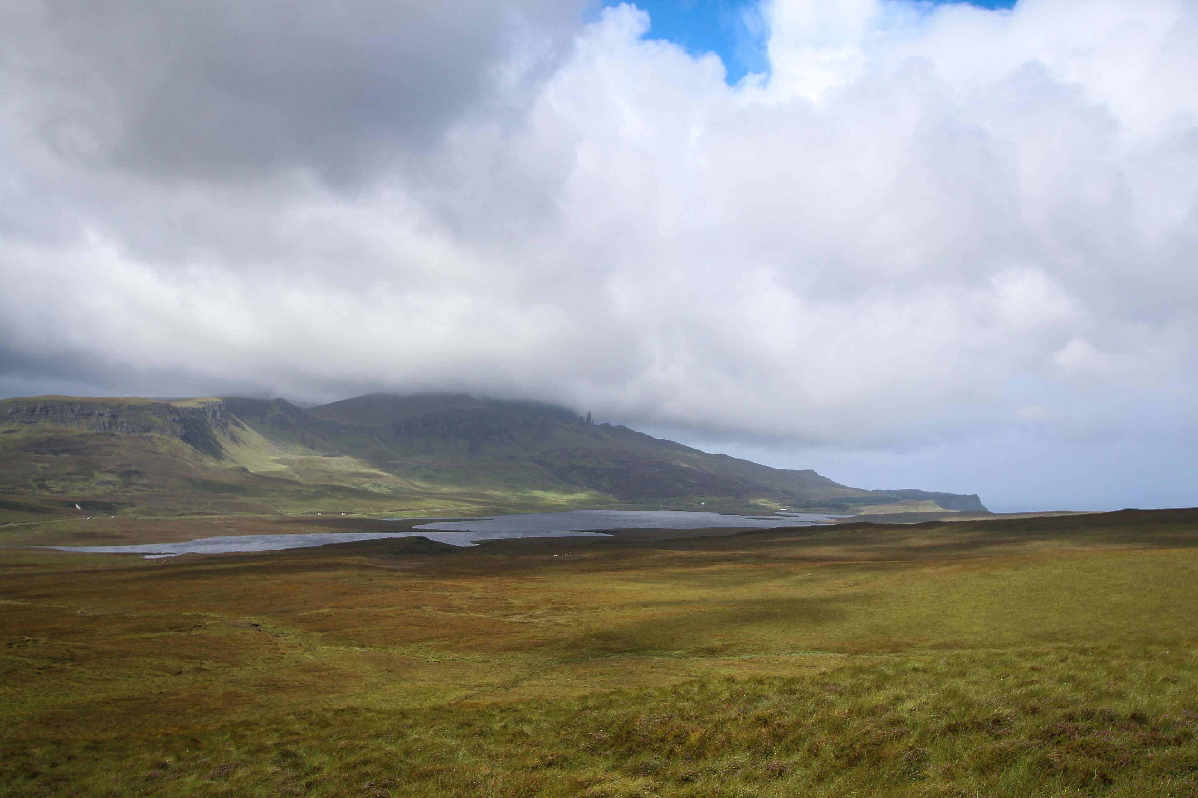 Old Man of  Storr From Loch Leathan