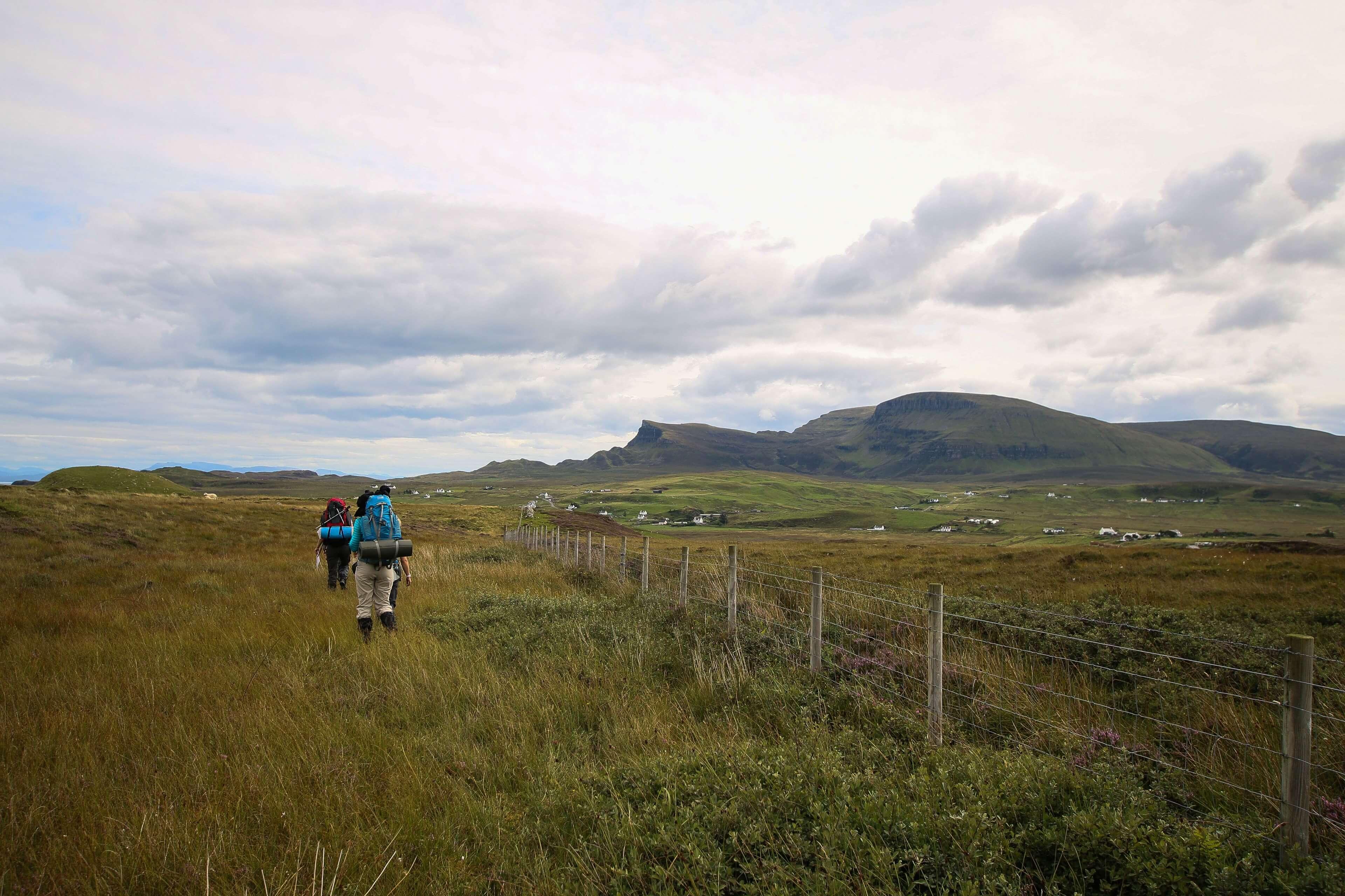 Heading Towards Flodigarry