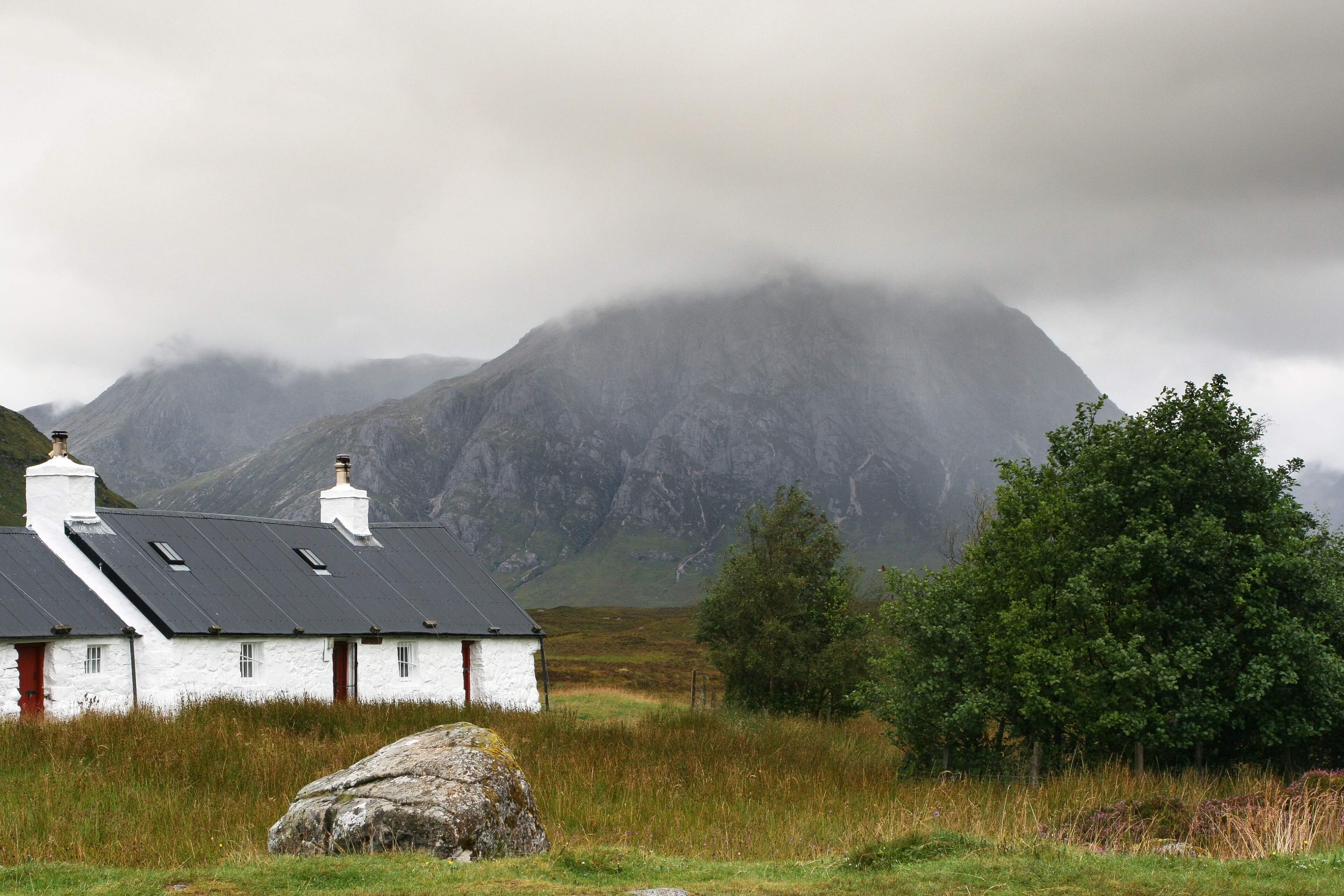 Cottages & Stob Dearg