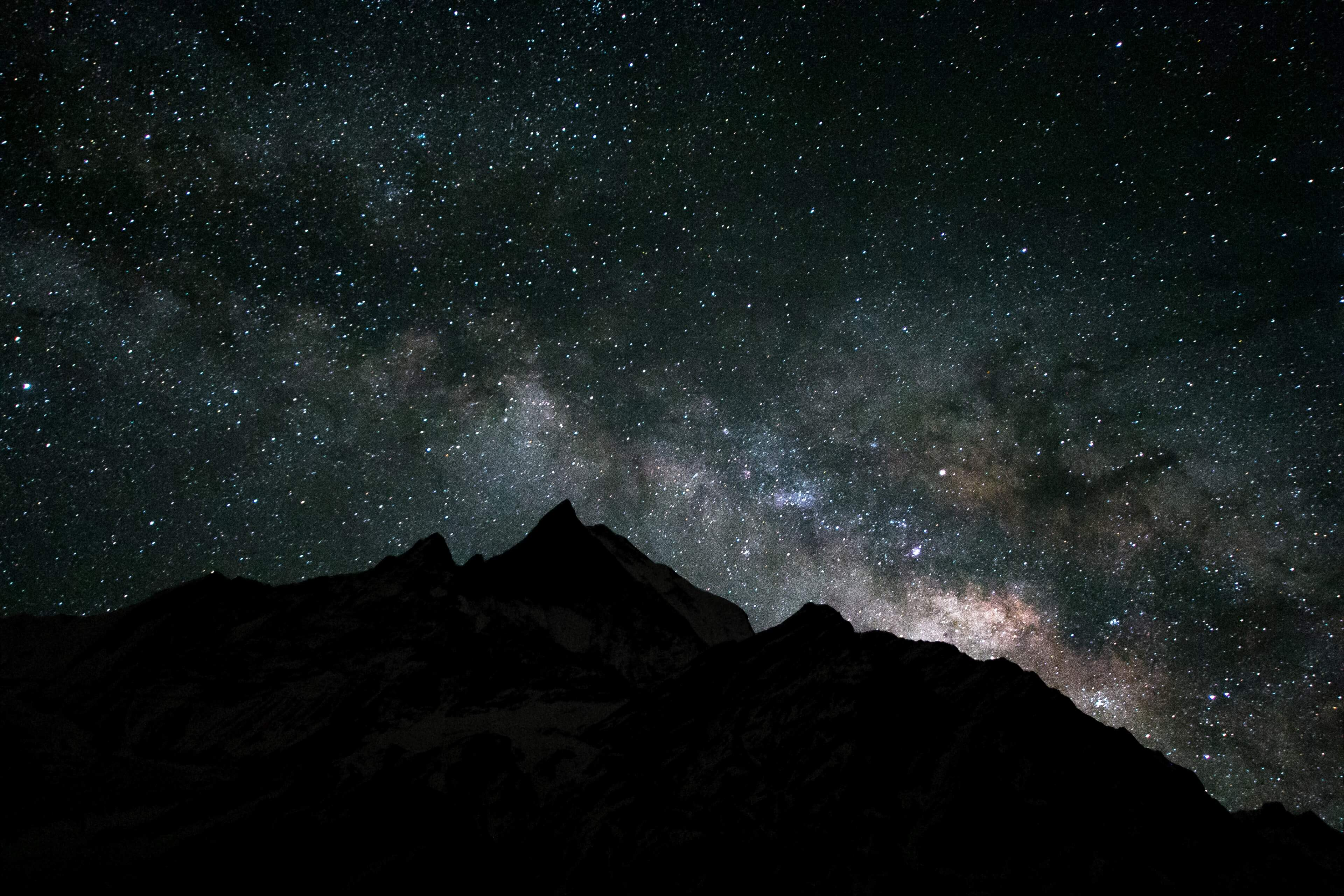 The Milky Way Above Machapachure