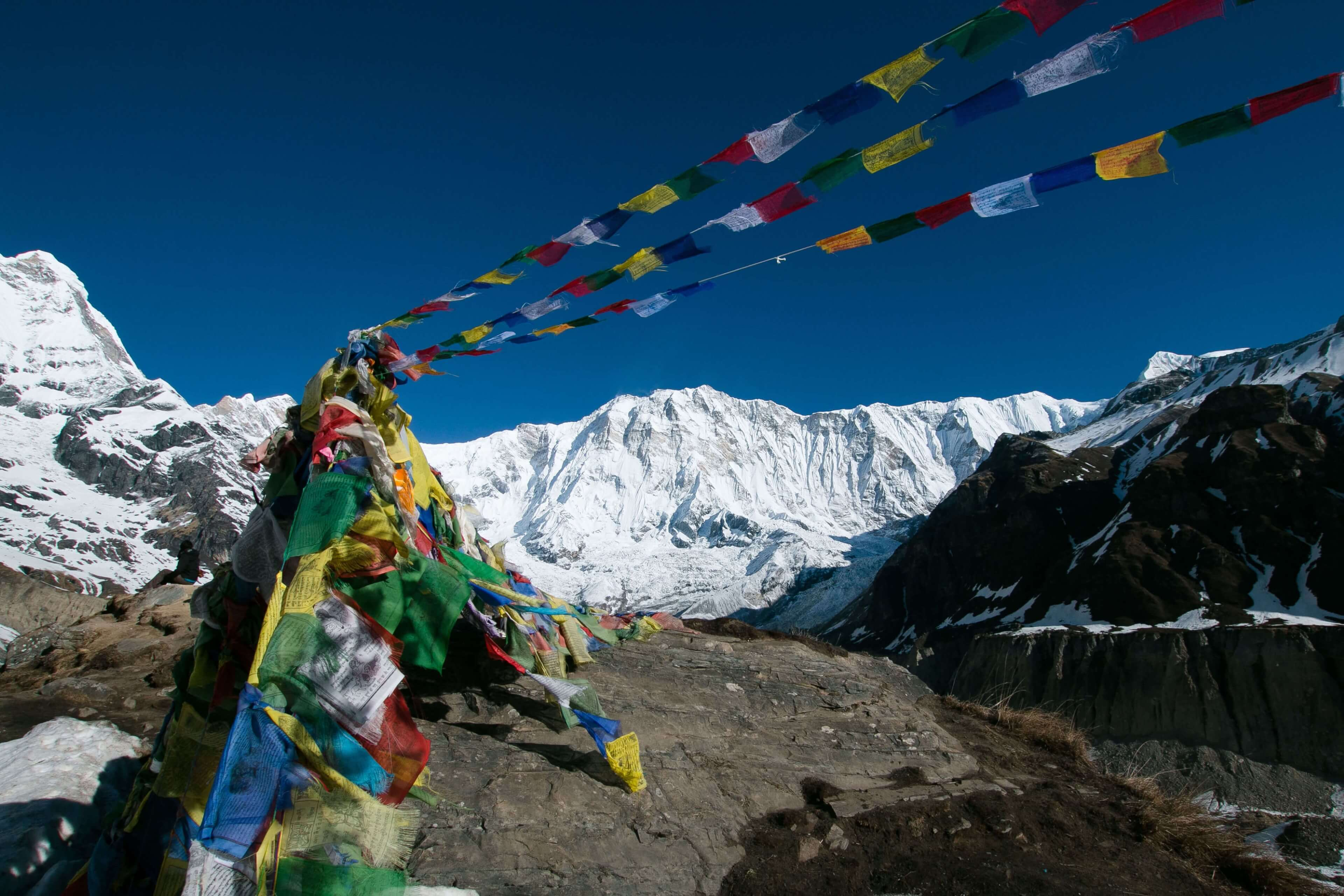 Annapurna Base Camp Prayer Flags