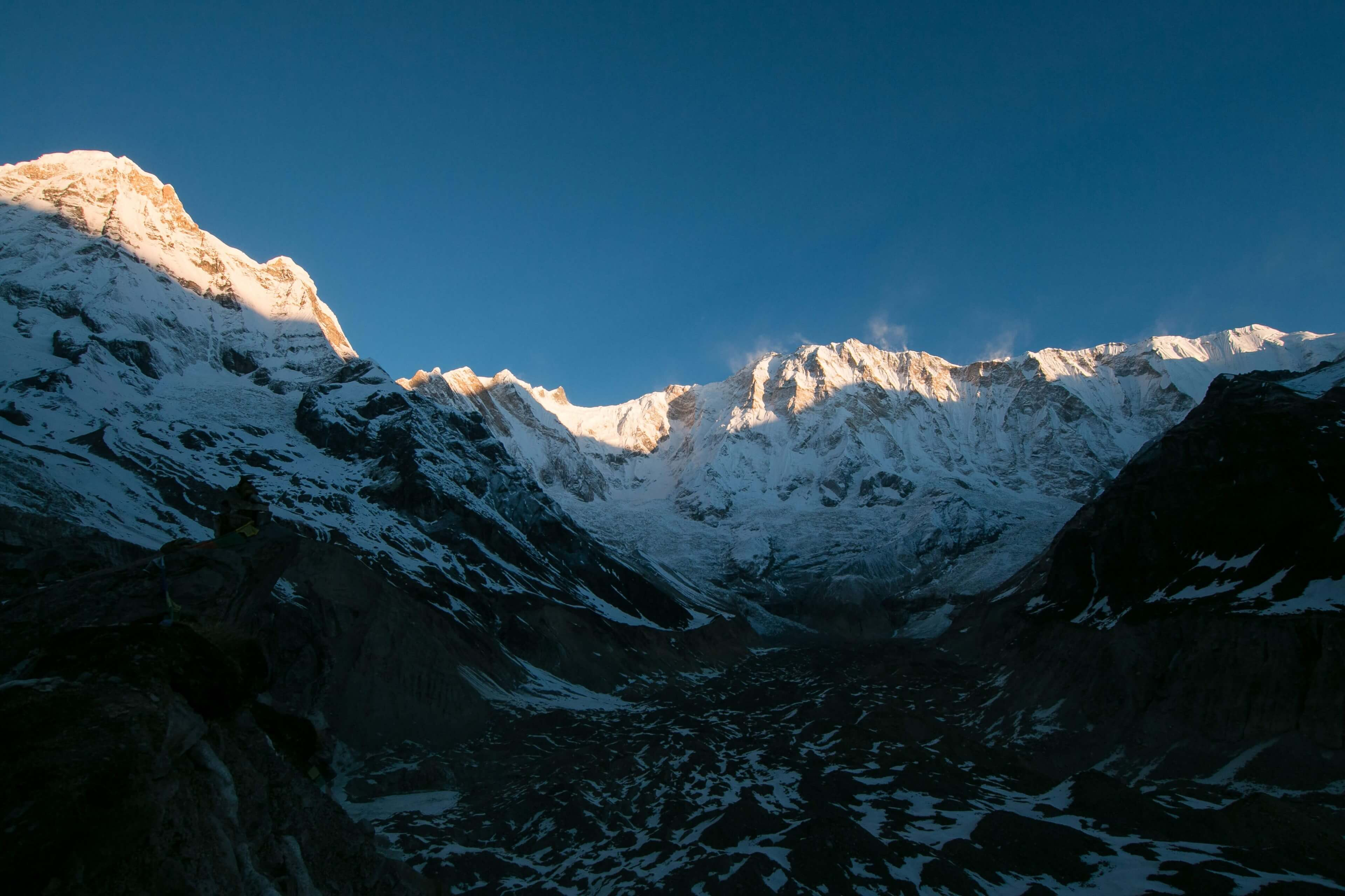 Sunrise Across The Annapurna Massive