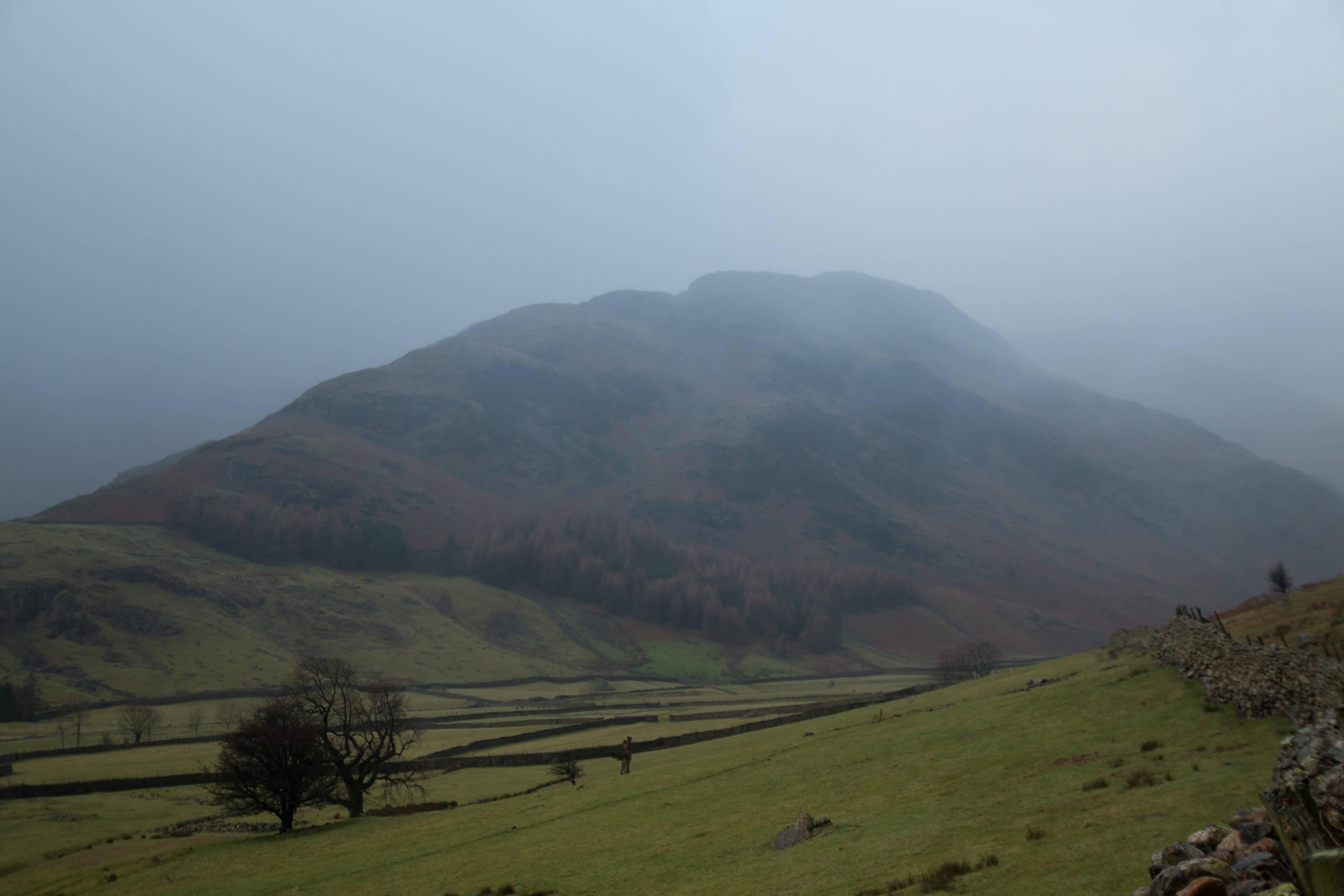 Bowfell In Mist