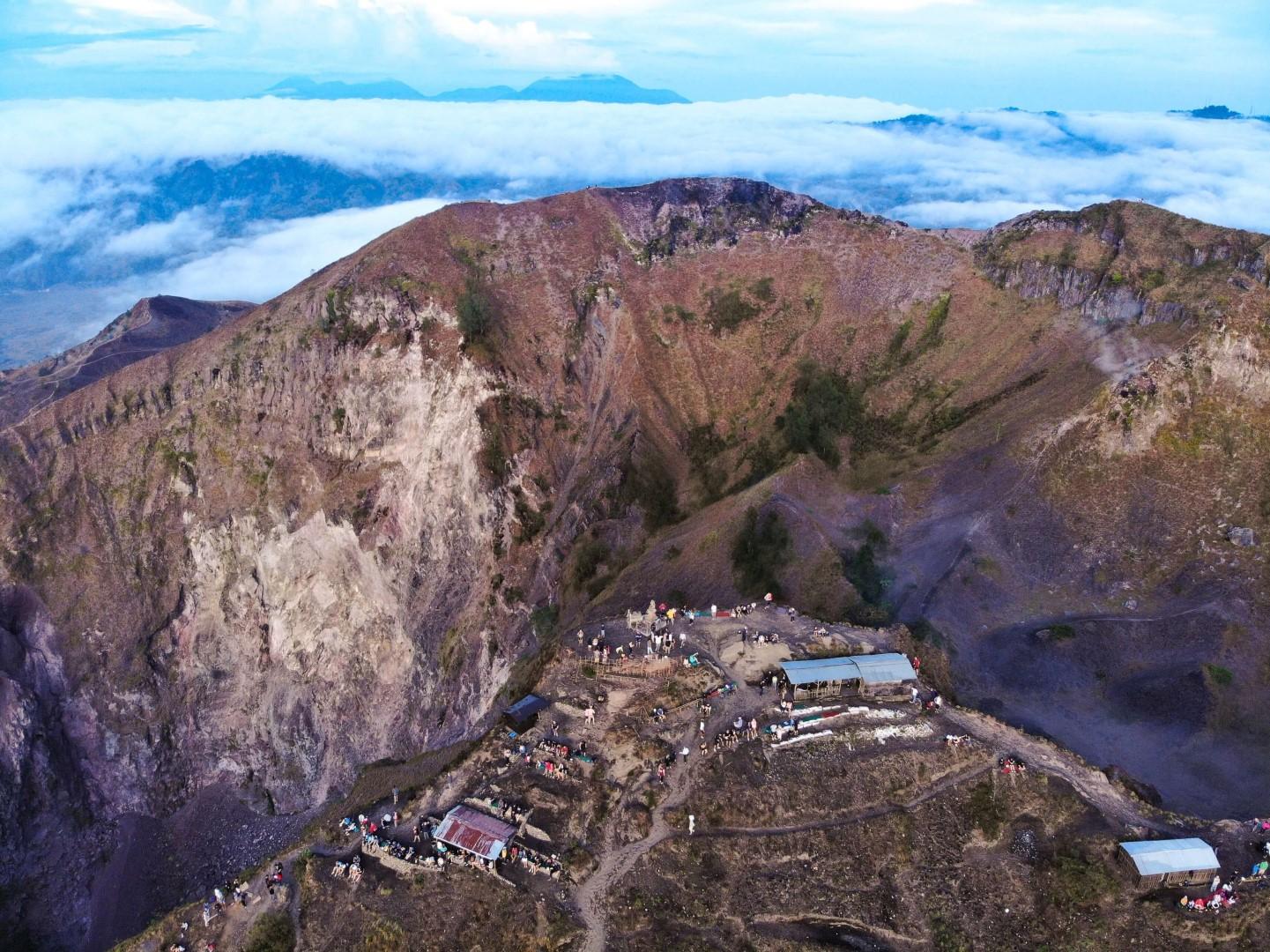 Mount Batur Drone