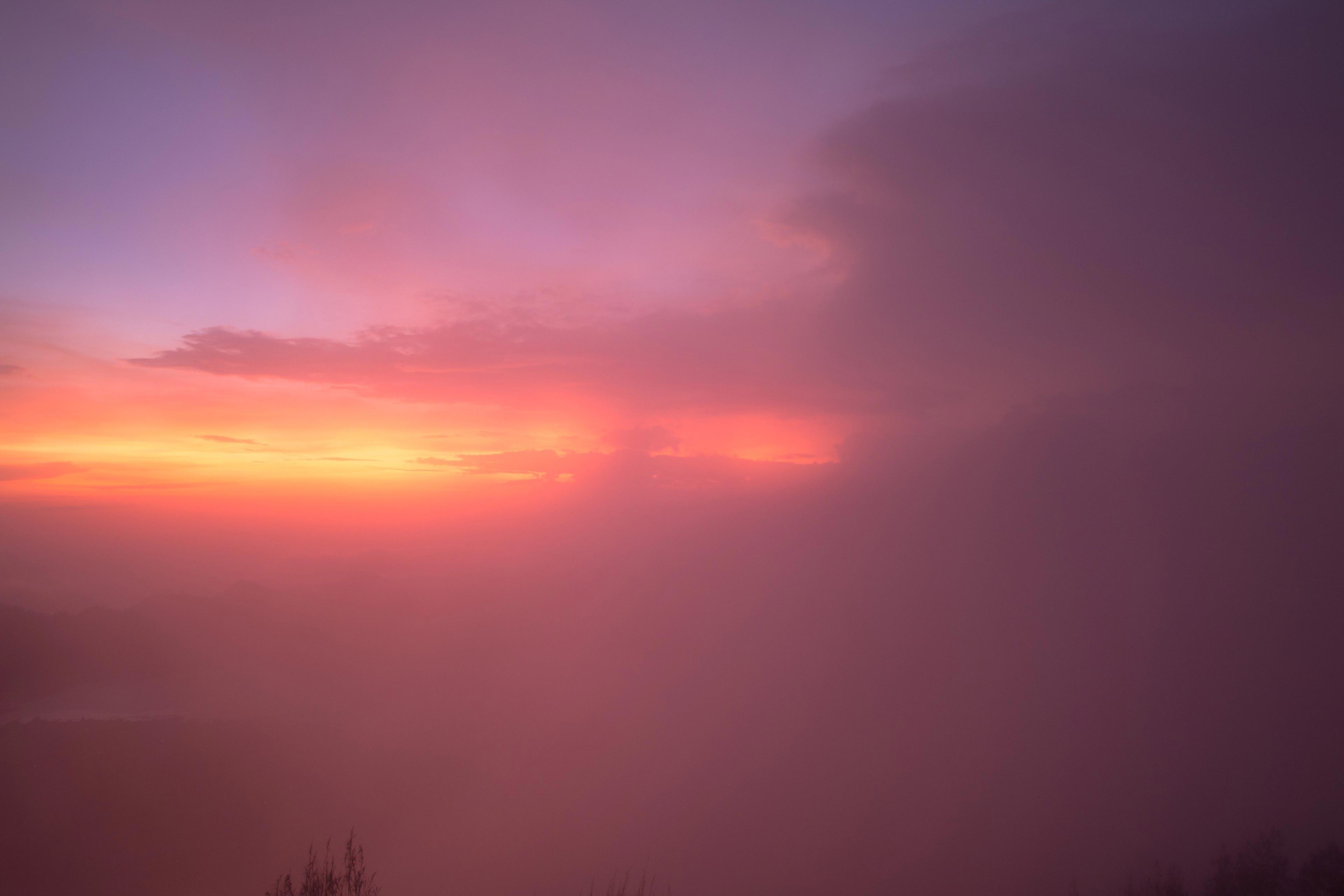 Sunrise Through The Cloud