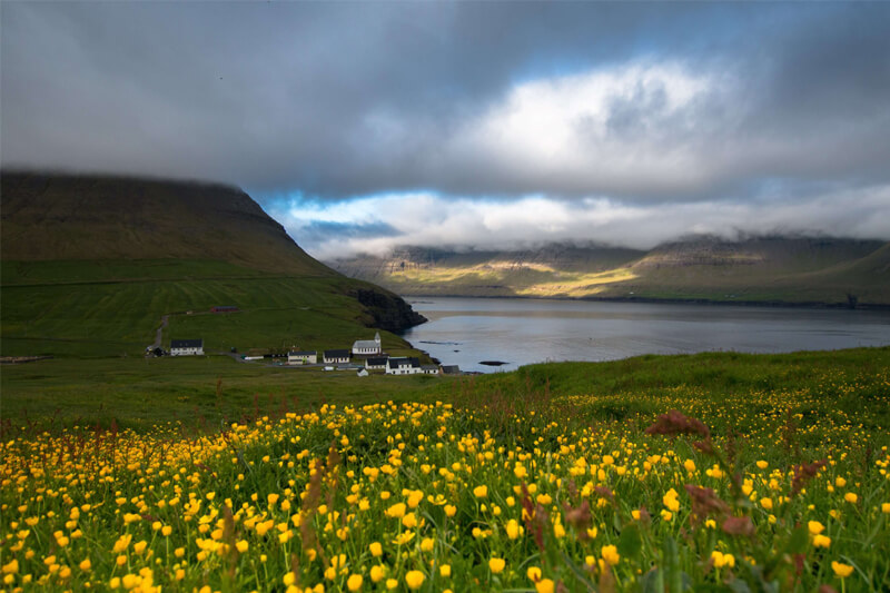 Faroe Islands Vidareidi