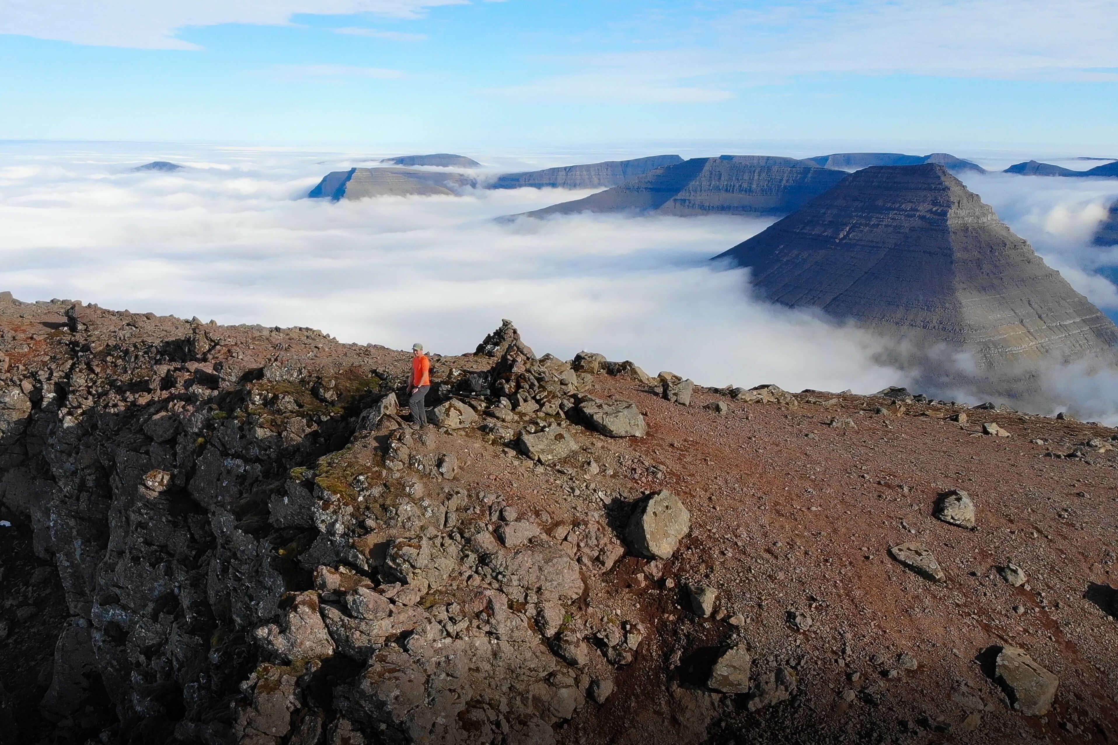 Villingadalsfjall Peak