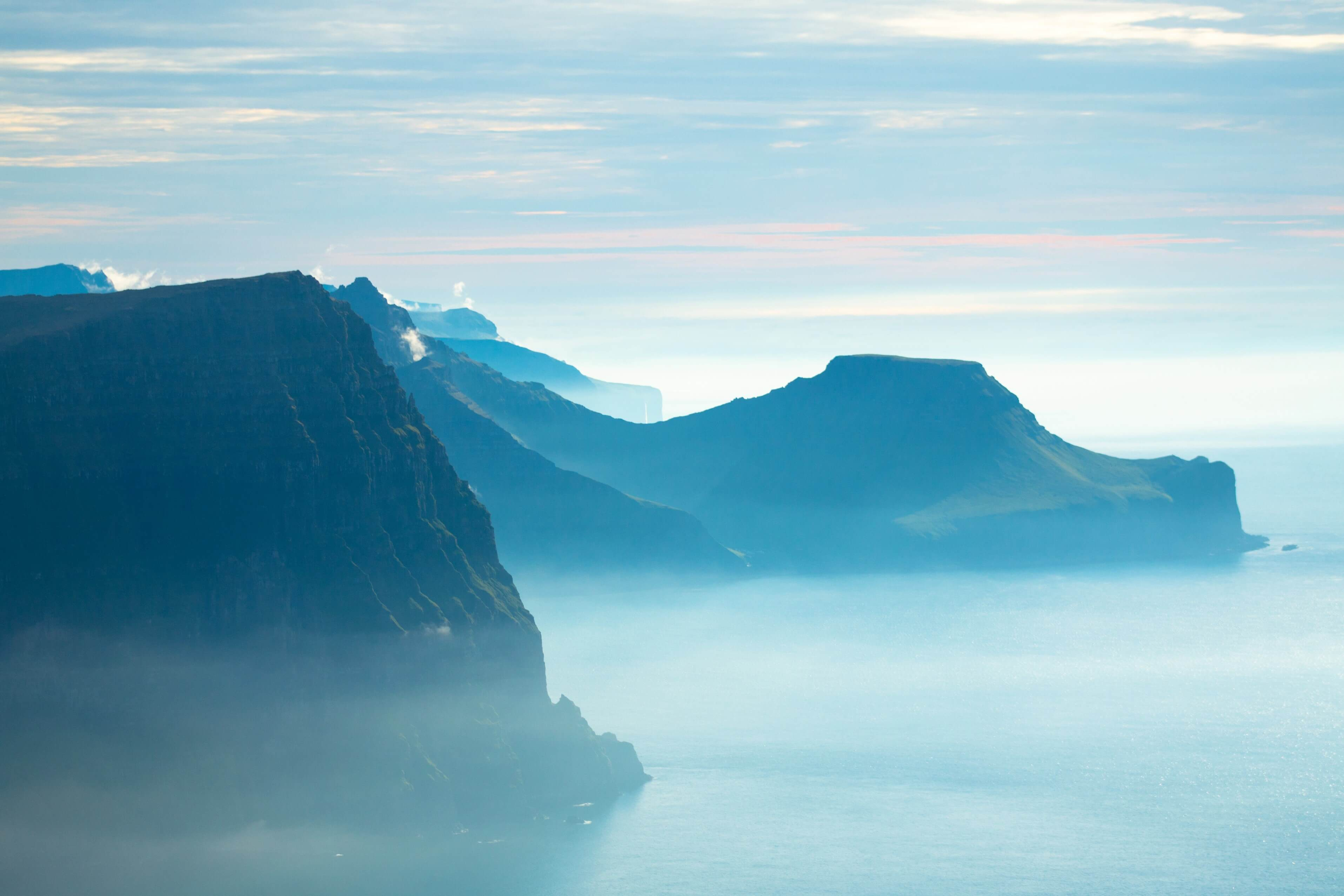 Looking Across To Kalsoy