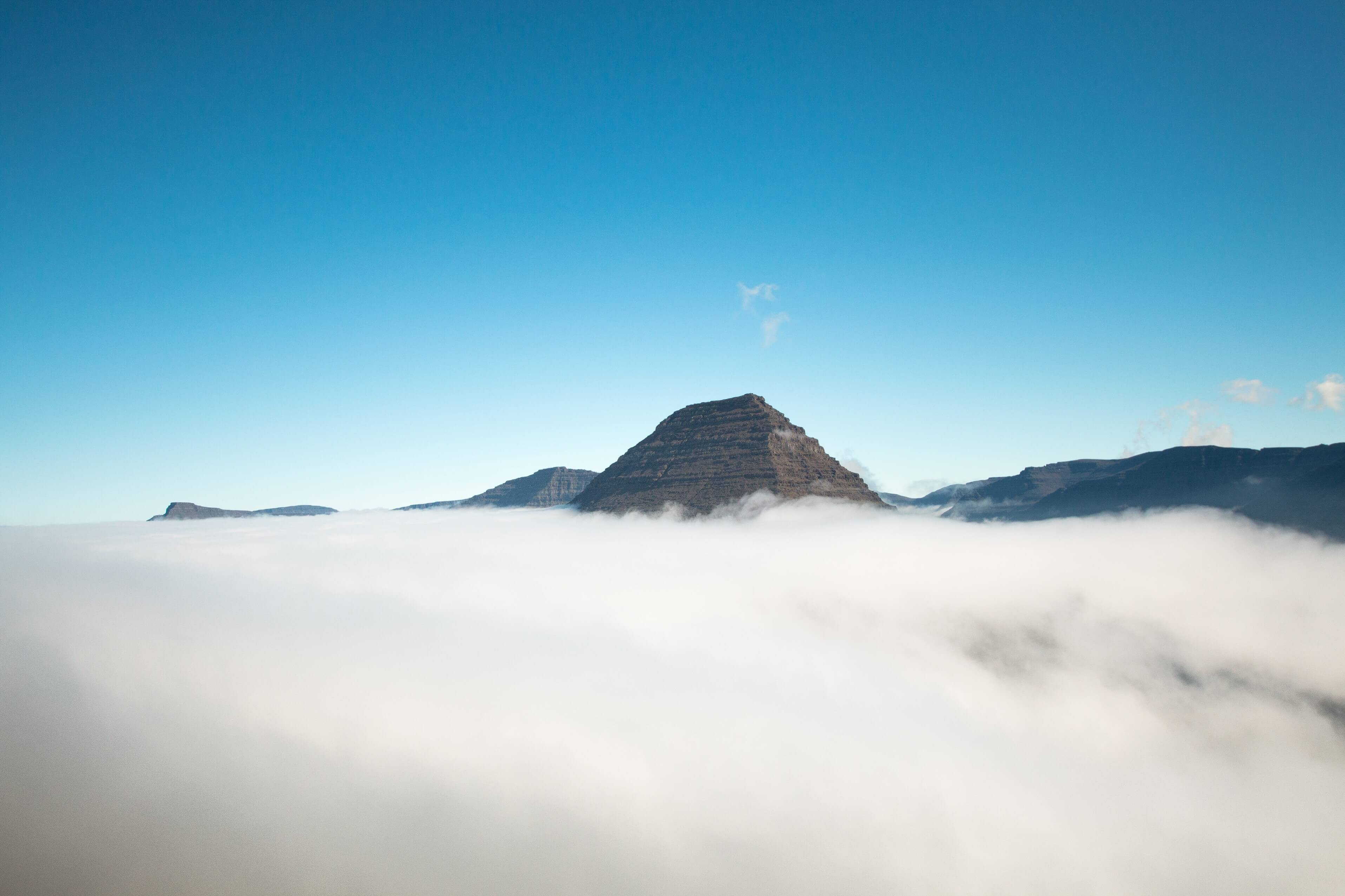 Malinsfjall Above The Clouds